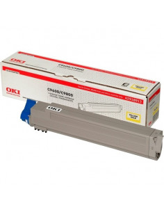 Cartus Toner Original Oki 42918913 Yellow, 15000 pagini
