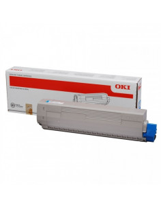 Cartus Toner Original Oki 44059256 Black, 10000 pagini