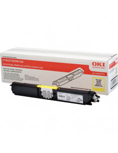 Cartus Toner Original Oki 44250721 Yellow, 2500 pagini