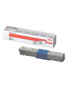 Cartus Toner Original Oki 44469704 Yellow, 2000 pagini