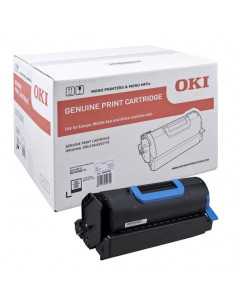 Cartus Toner Original Oki 45488802 Black, 18000 pagini