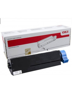 Cartus Toner Original Oki 45807102 Black, 3000 pagini
