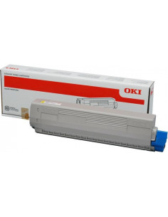 Cartus Toner Original Oki 46490401 Yellow, 1500 pagini