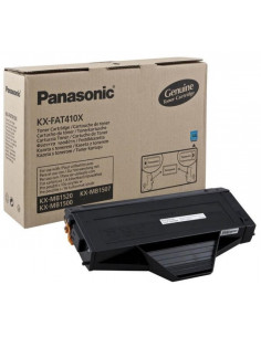 Cartus Toner Original Panasonic KX-FAT410X Black, 2500 pagini