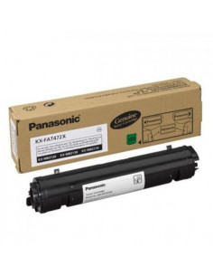 Cartus Toner Original Panasonic KX-FAT472X Black, 2000 pagini