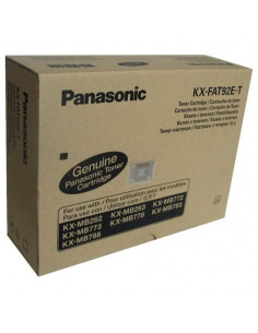 Cartus Toner Original Panasonic KX-FAT92E-T Black, 2000 pagini