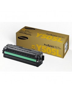 Cartus Toner Original Samsung CLT-Y505L/ELS Yellow, 3500 pagini