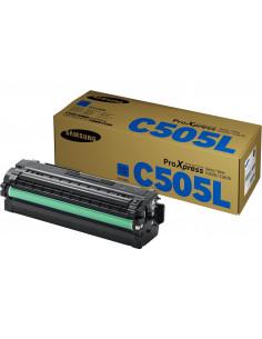Cartus Toner Original Samsung CLT-C505L/ELS Cyan, 3500 pagini