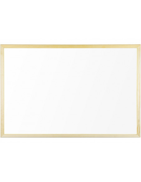 Whiteboard Cu Rama Din Lemn 90 X 60 Cm Bi-Silque