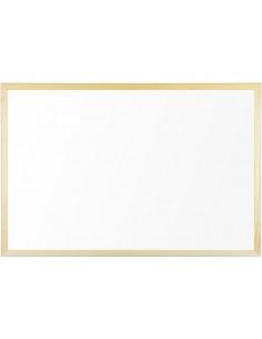 Whiteboard Magnetic Cu Rama Din Lemn 80 X 60 Cm Bi-Silque