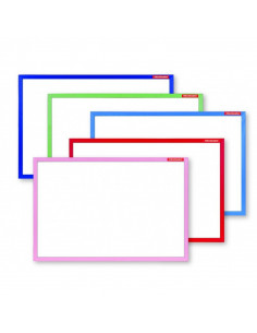 Whiteboard Magnetic Rama Lemn Color Memoboards 40 X 60 Cm