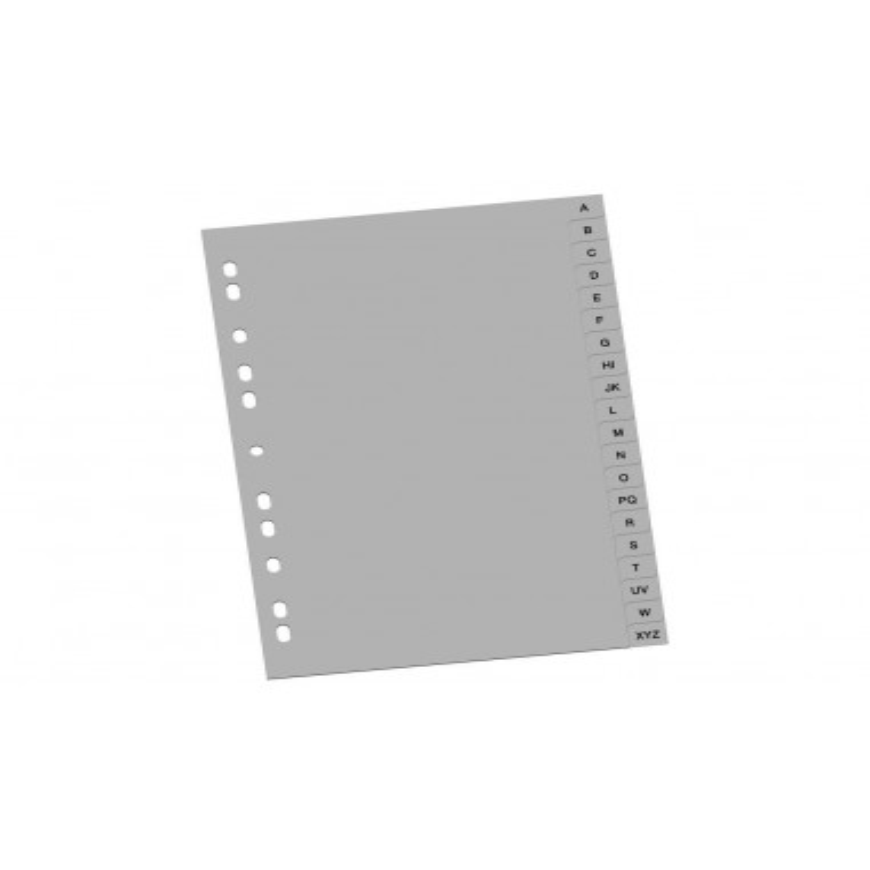 Index Din Plastic A-Z