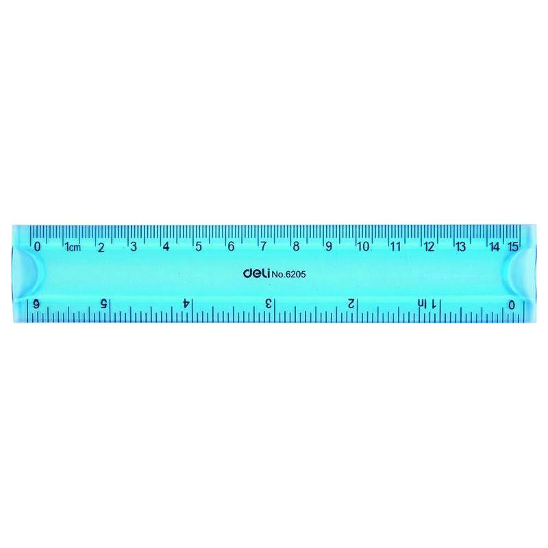 Rigla Deli Flexibila Deli Color, 30 cm