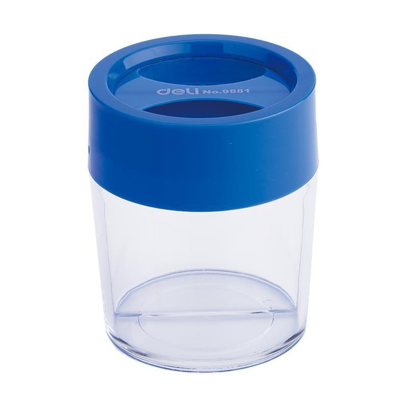 Dispenser Magnetic Agrafe Deli, Albastru