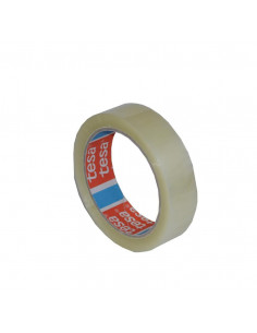 Banda Adeziva Acril Tesa 66 M X 25 Mm - Transparent