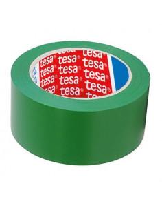 Banda Adeziva Marcare Tesa 50mm x 33m - Rosu