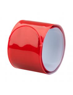 Bandă reflectorizantă, flexibilă, Rosu