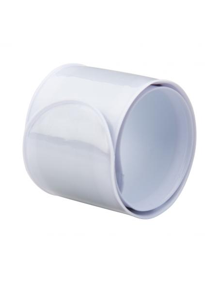 Bandă reflectorizantă, flexibilă, Alba