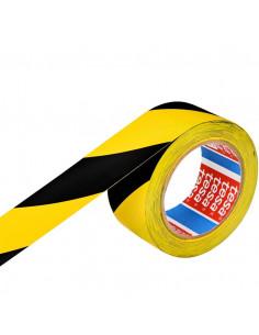 Banda Adeziva Marcare Tesa 50mm x 33m - Rosu / Alb