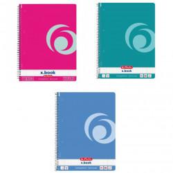 Set 4 caiete Herlitz Rainbow A4, matematica , 80 File , Spirala