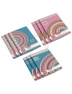 Set 10 caiete Herlitz Traditional A4, matematica, 60 File