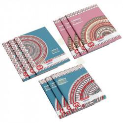 Set 10 caiete Herlitz Traditional A4, matematica, 60 File