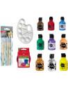 Set pictura Ocaldo, tempera 150 ml 9 bucati - diverse culori