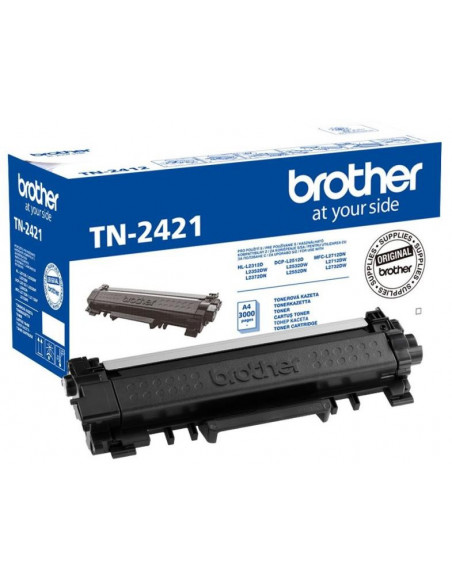 Cartus Toner Original Brother TN2421 Black, 3000 pagini