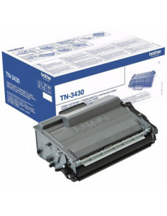 Cartus Toner Original Brother TN3430 Black, 3000 pagini