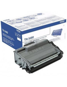 Cartus Toner Original Brother TN3480 Black, 3000 pagini