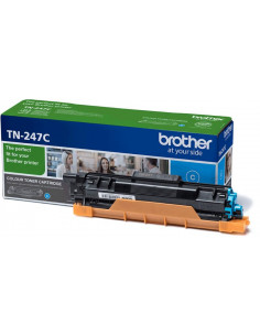 Cartus Toner Original Brother TN247C Cyan, 2300 pagini