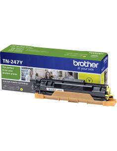 Cartus Toner Original Brother TN247Y Yellow, 2300 pagini