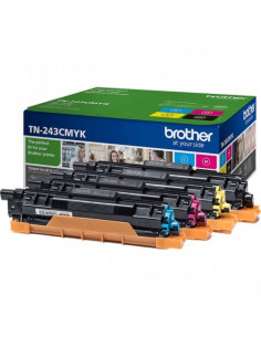 Cartus Toner Original Brother TN243CMYK Yellow, 4000 pagini