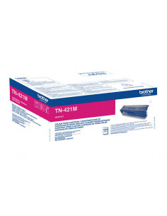 Cartus Toner Original Brother TN421M Magenta, 1800 pagini