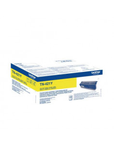 Cartus Toner Original Brother TN421Y Yellow, 1800 pagini