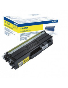 Cartus Toner Original Brother TN423Y Yellow, 4000 pagini