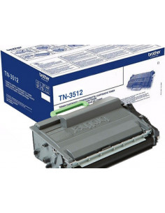 Cartus Toner Original Brother TN3512 Black, 12000 pagini
