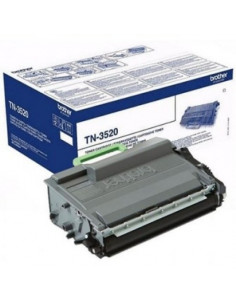 Cartus Toner Original Brother TN3520 Black, 20000 pagini