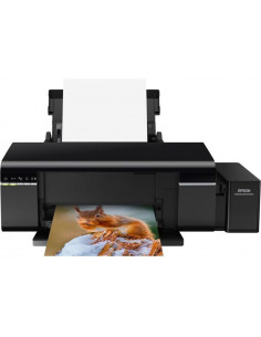 Imprimanta Inkjet Epson L805 CISS, A4, Wireless