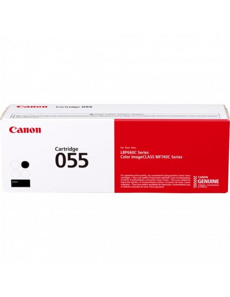 Cartus Toner Original Canon CRG055 Black, 2300 pagini