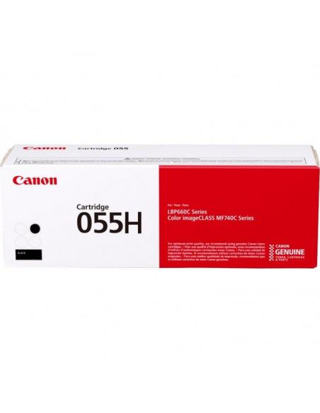 Cartus Toner Original Canon CRG055H Black, 7600 pagini