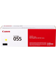 Cartus Toner Original Canon CRG055 Yellow, 2100 pagini