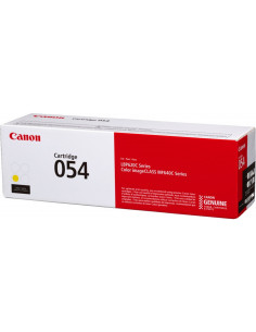 Cartus Toner Original Canon CRG054 Yellow, 1200 pagini