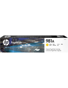 Cartus Cerneala Original HP 981A J3M70A, Yellow