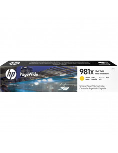 Cartus Cerneala Original HP XL 981X L0R11A, Yellow