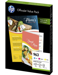 Cartus Cerneala Original HP 963 6JR42AE, Valuepack