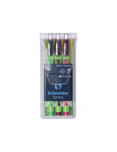 Set Fineliner Schneider Xpress Colors
