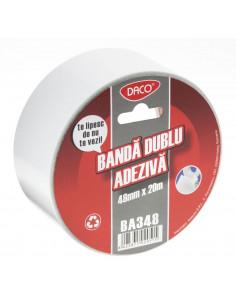 Banda Dublu Adeziva  Daco Ba348 48 mm x 20 m