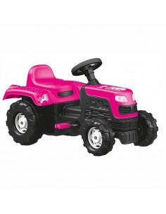 Tractor Dolu Cu Pedale Roz Unicorn, 52 x 81,5 x 45 cm