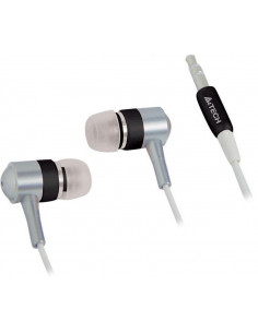 Casti In-Ear A4TECH MP3 fara microfon, Negru MK-650-B